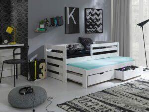 Patrová postel LISA Bílý