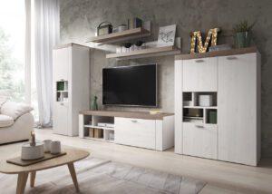 Systémový nábytek AMY 1 Sibiu larche / Sonoma Trufel