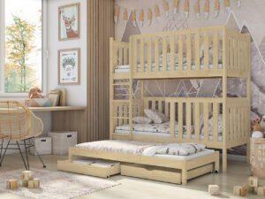 Patrová postel AURA Borovice