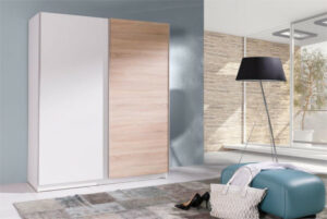 Levna šatní skříň s posuvnými dveřmi BATUMI 3 150
