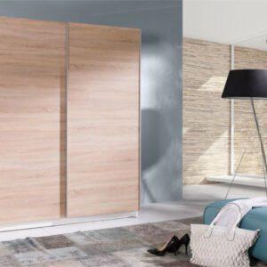 Stylová šatní skříň s posuvnými dveřmi BATUMI 4 150