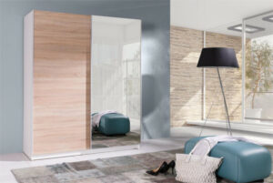 Trendy šatní skříň s posuvnými dveřmi BATUMI 5 150