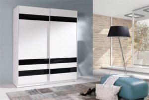Moderní šatní skříň s posuvnými dveřmi BATUMI 8 150