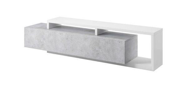 Komoda TV BOTA BT40 bílý / beton colorado
