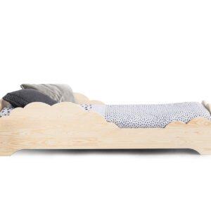 Dřevěná postel CLODI