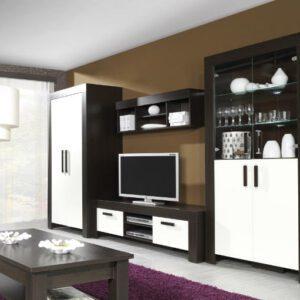 Moderní systémový nábytek CEZAR 2 milano/crem