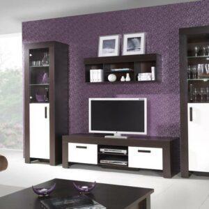 Moderní nábytek CEZAR sestava 3 milano/crem