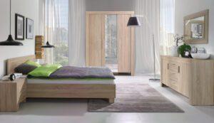 Moderní ložnice sestava 7 sonoma