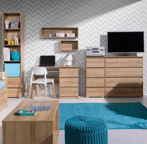 Dětský bílý nábytek COSMO 12