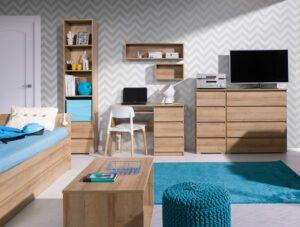 Dětský bílý nábytek COSMO 14