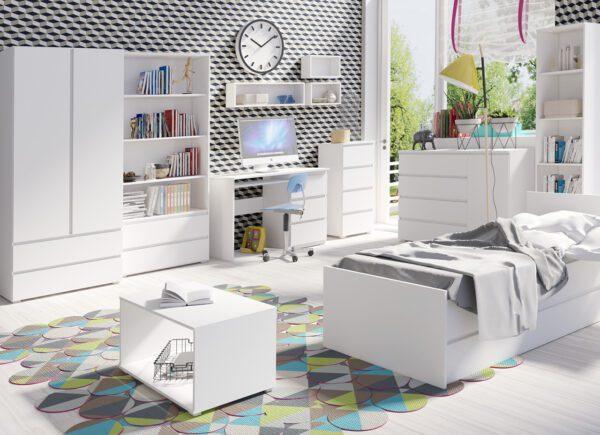 Dětský bílý nábytek COSMO 2