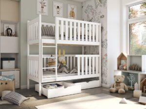 Patrová postel ALVA Bílý