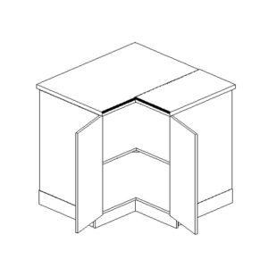 Skříňka dolní DRP P/L - Blanka