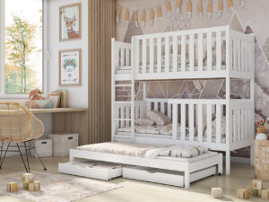 Patrová postel AURA Bílý
