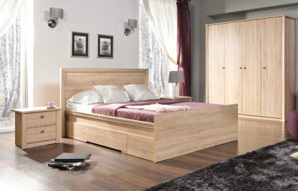 Moderní nábytek do ložnice FINEZJA sestava 6
