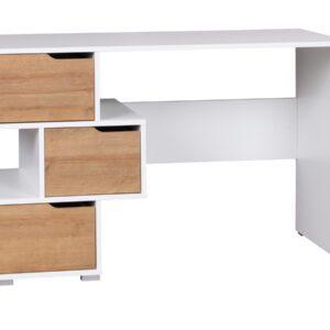 Psací stůl IW1 IWA Bílý / Dub zlatý