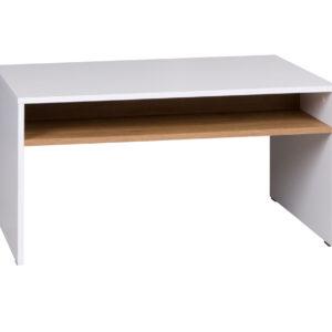 Konferenční stolek IW5 IWA Bílý / Dub zlatý