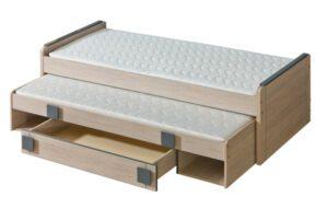 GM16 Patrová postel nízká s úložným prostorem GUMI