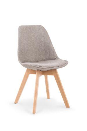 Židle K303 světle šedá