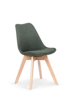Židle K303 tmavě zelená