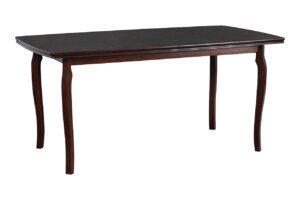 Stůl KENT 1 90x160/200cm přírodní dýha