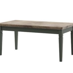 Konferenční stolek EVORA EV99 zelený / dub lefkas