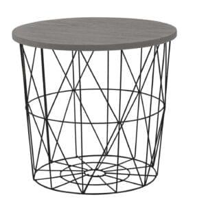 Konferenční stolek MARIFFA černý / šedá