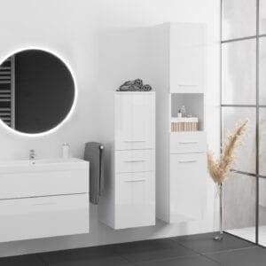 Koupelna LIPSY bílý lesk