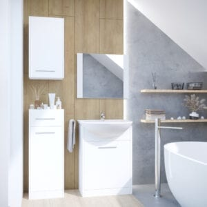 Stylová koupelna NICO bílý