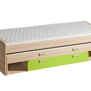 LR16 Patrová postel nízká s úložným prostorem LORENTO