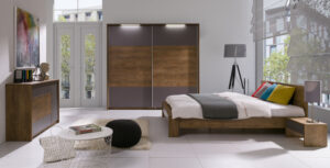 Moderní nábytek do ložnice LATIKA Sestava 3