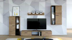 Stylová obývací stěna SALSA Lefkas