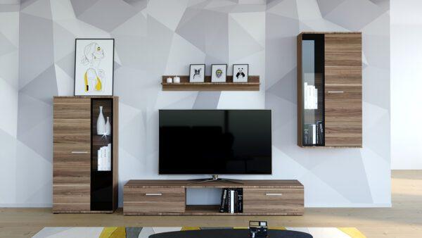 Stylová obývací stěna SALSA Švestka - rychlé doručení