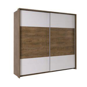 LT4 Šatní skříň s posuvnými dveřmi LATIKA
