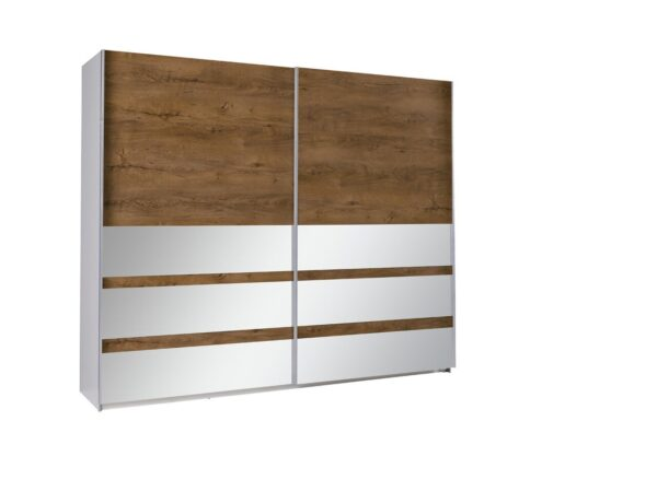 Šatní skříň s posuvnými dveřmi LUX 22