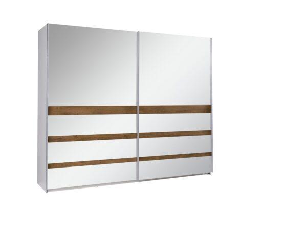 Šatní skříň s posuvnými dveřmi LUX 23
