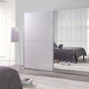 Moderní šatní skříň s posuvnými dveřmi LUX 28