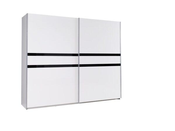 Luxusní šatní skříň LUX 33 lesk