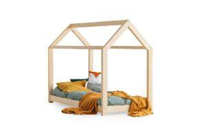 Dřevěná postel CLOVER