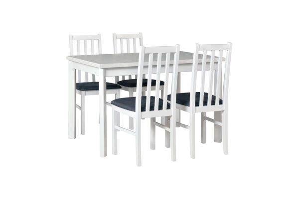 Stůl MAX 5P + Židle BOS 10 (4ks.) DX6