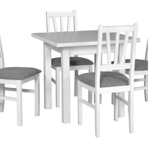 Stůl MAX 7 + Židle BOS 5 (4ks.) DX3