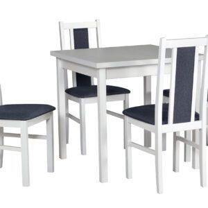 Stůl MAX 9 + Židle BOS 14 (4ks.) DX7