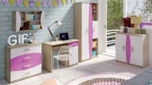 Levný nábytek do dětského pokoje TENUS II Sestava 1