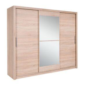 Šatní skříň MISTRAL 250 se zrcadlem