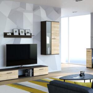Obývací stěna i komoda SALSA matera / artisan