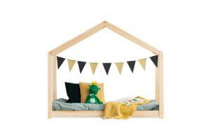 Dřevěná postel FROG