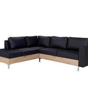 Rohová sedací souprava ORLANDO WOOD soft 11 / dub artisan  levá