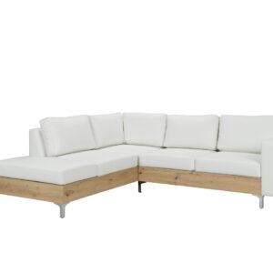 Rohová sedací souprava ORLANDO WOOD soft 17 / dub artisan  levá