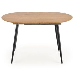 Rozkládací jídelní stůl COLORADO dub zlatý / černý