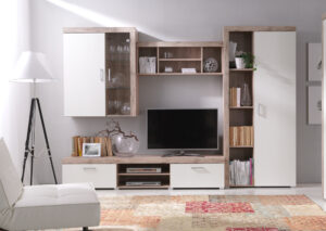 Moderní nábytek SAMBA sestava 10 san marino / krémový